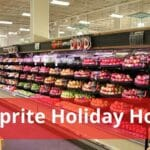 Shoprite Holiday Hours Opening/Closing in 2020