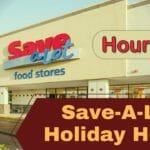 Save-A-Lot Holiday Hours