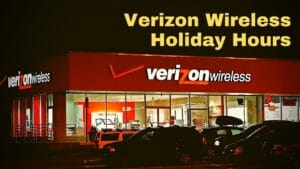 Verizon Wireless Holiday Hours