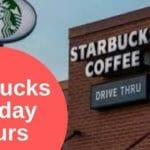 Starbucks Holiday Hours