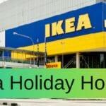 Ikea Holiday Hours