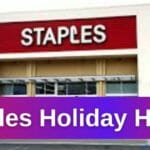 Staples Holiday Hours Open/Closed