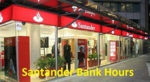Santander Bank Holiday Hours