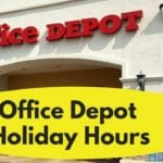 Office Depot Holiday Hours