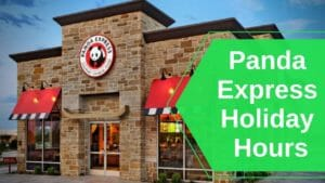 Panda Express Holiday Hours