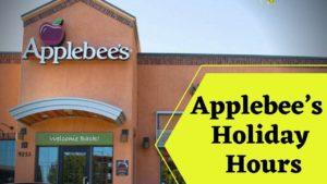 Applebee's Holiday Hours