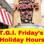 T.G.I. Friday's Holiday Hours
